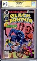 Black Panther #14 CGC 9.8 w CGC Signature SERIES