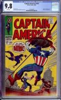 Captain America #105 CGC 9.8 w