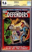 Defenders #1 CGC 9.6 ow/w