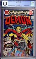 Demon #1 CGC 9.2 w