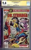 Doctor Strange Annual #1 CGC 9.4 ow/w CGC Signature SERIES