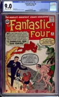 Fantastic Four #6 CGC 9.0 ow/w