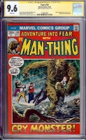 Fear #10 CGC 9.6 w CGC Signature SERIES