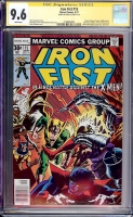Iron Fist #15 CGC 9.6 w CGC Signature SERIES