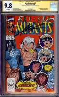 New Mutants #87 CGC 9.8 w CGC Signature SERIES