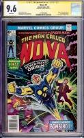 Nova #1 CGC 9.6 w CGC Signature SERIES