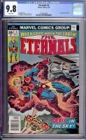 Eternals #3 CGC 9.8 w