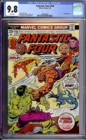 Fantastic Four #166 CGC 9.8 w