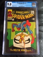 Amazing Spider-Man #35 CGC 9.0 ow/w