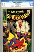 Amazing Spider-Man #51 CGC 9.2 ow/w