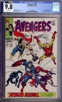 Avengers #58 CGC 9.8 w