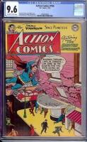 Action Comics #186 CGC 9.6 ow/w
