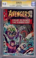Avengers #27 CGC 9.0 ow/w CGC Signature SERIES