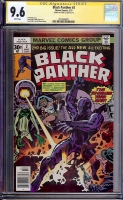 Black Panther #2 CGC 9.6 w CGC Signature SERIES
