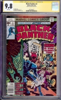 Black Panther #3 CGC 9.8 w CGC Signature SERIES