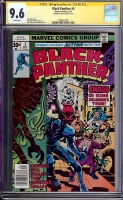 Black Panther #3 CGC 9.6 w CGC Signature SERIES