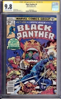Black Panther #6 CGC 9.8 ow/w CGC Signature SERIES