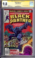 Black Panther #7 CGC 9.8 w CGC Signature SERIES