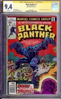 Black Panther #7 CGC 9.4 w CGC Signature SERIES