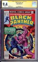 Black Panther #10 CGC 9.4 w CGC Signature SERIES