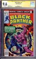 Black Panther #10 CGC 9.6 w CGC Signature SERIES