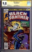 Black Panther #11 CGC 9.8 w CGC Signature SERIES