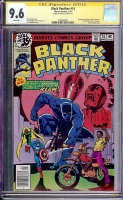 Black Panther #14 CGC 9.6 w CGC Signature SERIES