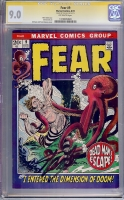 Fear #9 CGC 9.0 ow CGC Signature SERIES