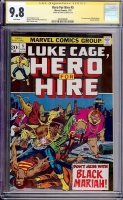 Hero For Hire #5 CGC 9.8 w CGC Signature SERIES