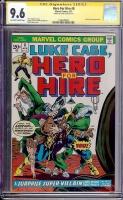 Hero For Hire #8 CGC 9.6 ow/w CGC Signature SERIES
