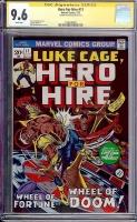 Hero For Hire #11 CGC 9.6 w CGC Signature SERIES