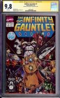 Infinity Gauntlet #1 CGC 9.8 w CGC Signature SERIES