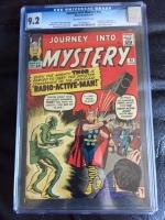 Journey Into Mystery #93 CGC 9.2 ow/w