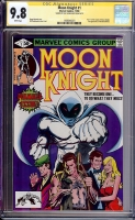 Moon Knight #1 CGC 9.8 w CGC Signature SERIES