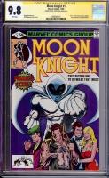 Moon Knight #1 CGC 9.8 w CGC Signature SERIES