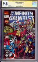 Infinity Gauntlet #3 CGC 9.8 w CGC Signature SERIES