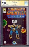 Infinity Gauntlet #4 CGC 9.8 w CGC Signature SERIES