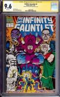 Infinity Gauntlet #5 CGC 9.6 w CGC Signature SERIES