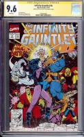 Infinity Gauntlet #6 CGC 9.6 w CGC Signature SERIES
