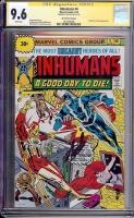 Inhumans #4 CGC 9.6 w 30 Cent Price Variant