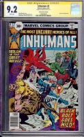 Inhumans #6 CGC 9.2 w 30 Cent Price Variant