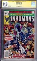 Inhumans #10 CGC 9.8 w CGC Signature SERIES