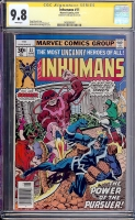 Inhumans #11 CGC 9.8 w CGC Signature SERIES