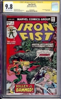 Iron Fist #2 CGC 9.8 ow/w CGC Signature SERIES
