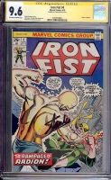 Iron Fist #4 CGC 9.6 ow/w CGC Signature SERIES