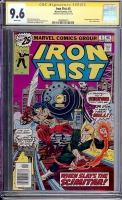 Iron Fist #5 CGC 9.6 w CGC Signature SERIES