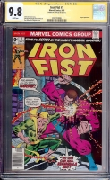 Iron Fist #7 CGC 9.8 w CGC Signature SERIES