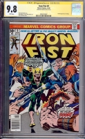Iron Fist #9 CGC 9.8 w CGC Signature SERIES