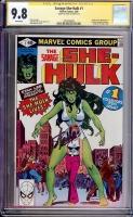 Savage She-Hulk #1 CGC 9.8 w CGC Signature SERIES