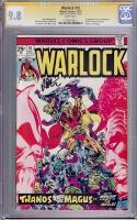 Warlock #10 CGC 9.8 w CGC Signature SERIES